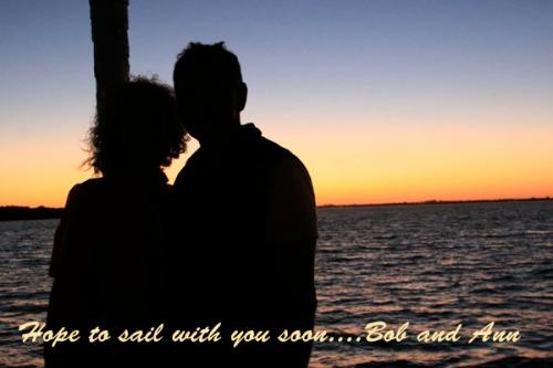 Ann & Bob Bow Silhouette Florida Keys Sailing