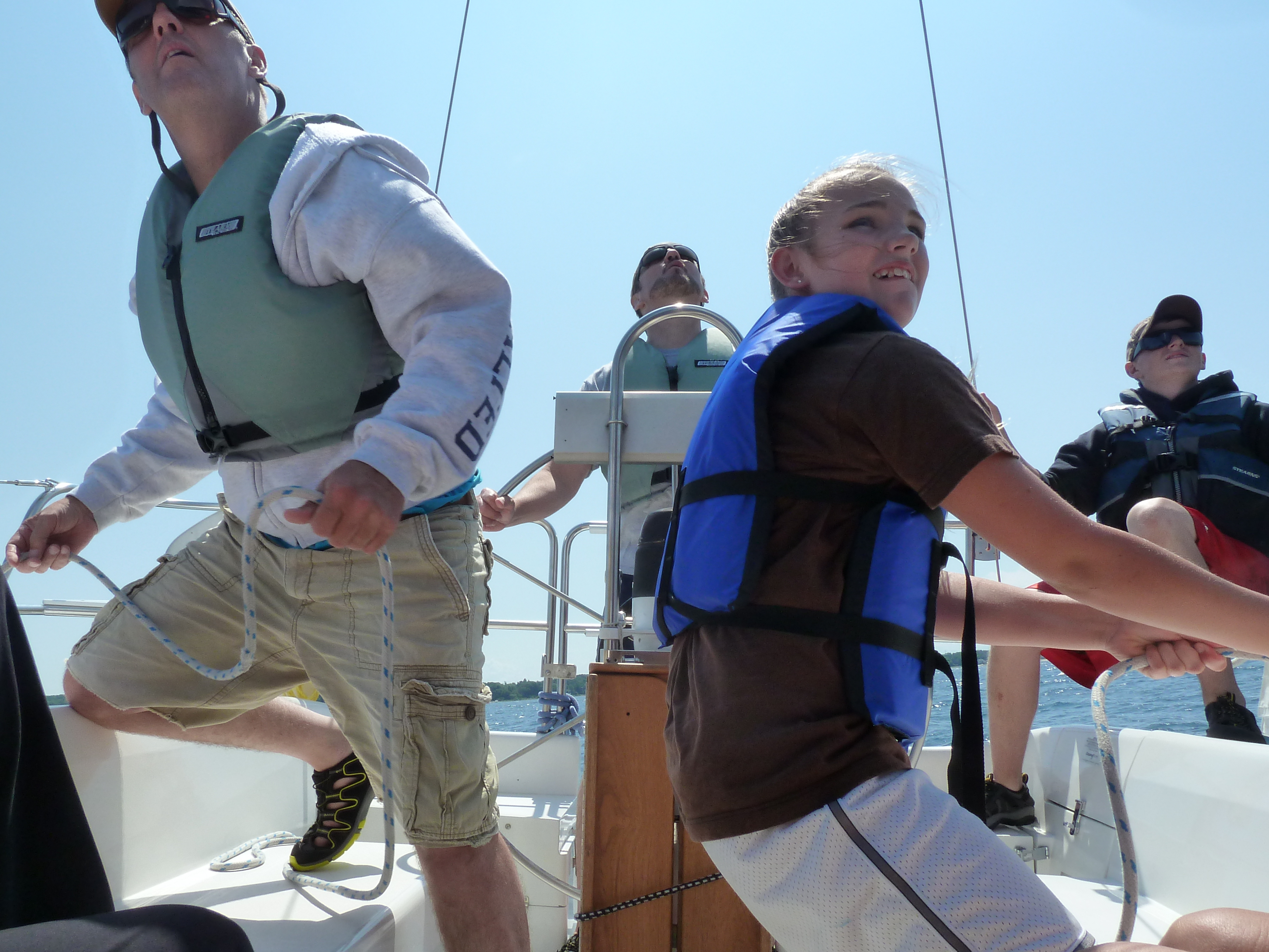 Sailing This Family Knows How To Have Fun Asa Certification